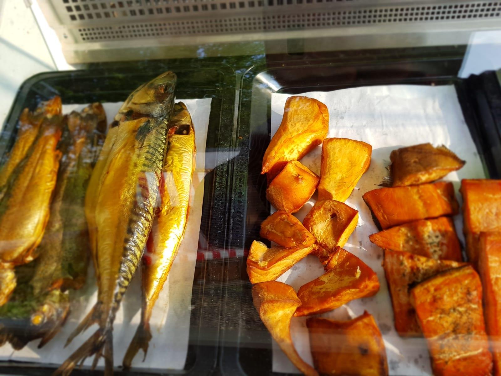 Forelle, Makrele, Buttermakrele und Stremellachs