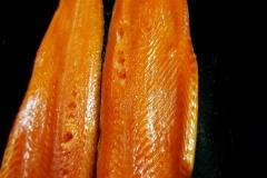 kaltgeräucherter Lachs
